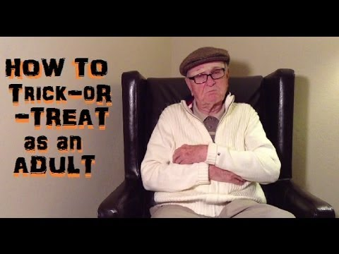 How to Go Trick-or-Treating as an Adult by Mr. Forthright