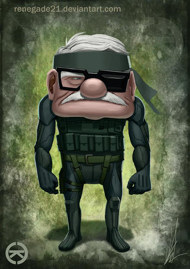 Metal Gear Up