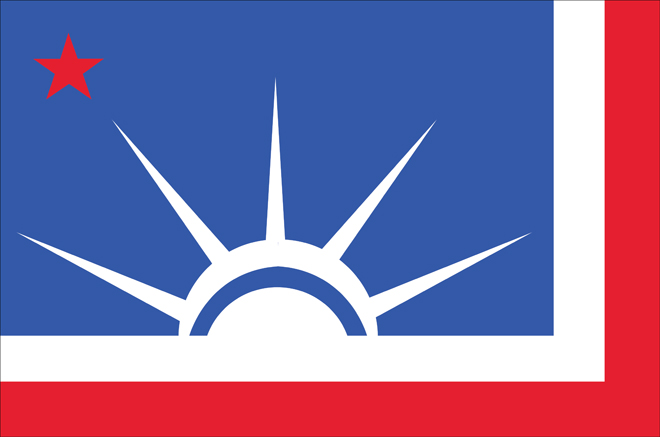U.S. State Flags Redesigned with a Unified Design Theme