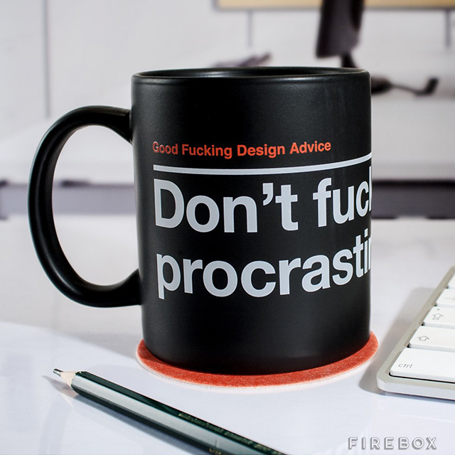 Good F*cking Design Advice Mugs, Drinkware That Dishes Out Motivational F*cking Messages