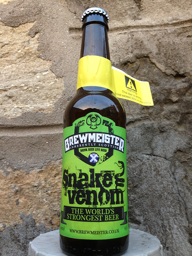 Snake Venom, The World's Strongest Beer