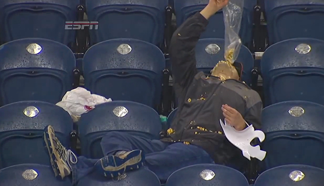 Football Popcorn Head