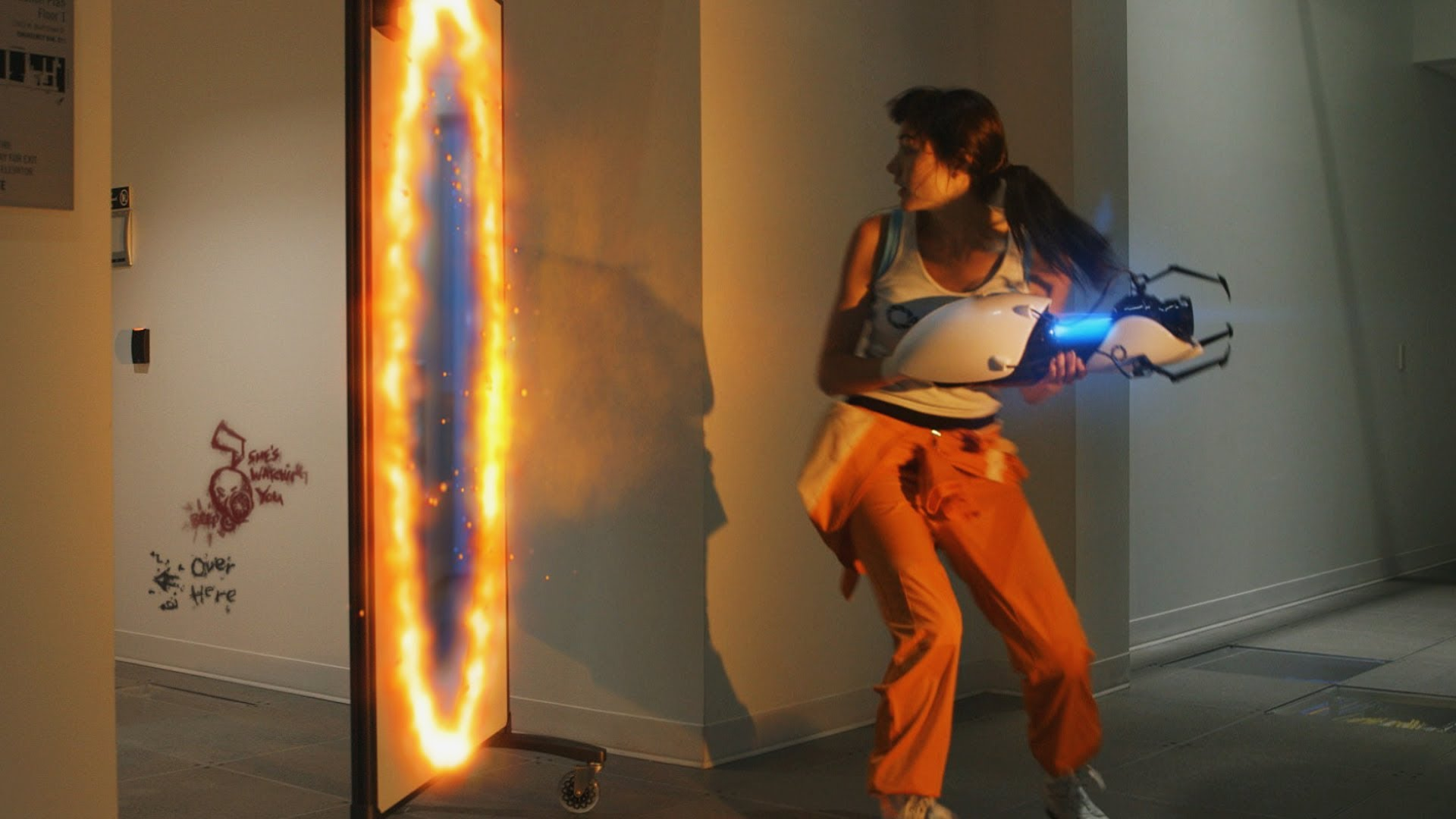 Portal: Survive!, A Live-Action Short Film Based on the Video Game 'Portal'