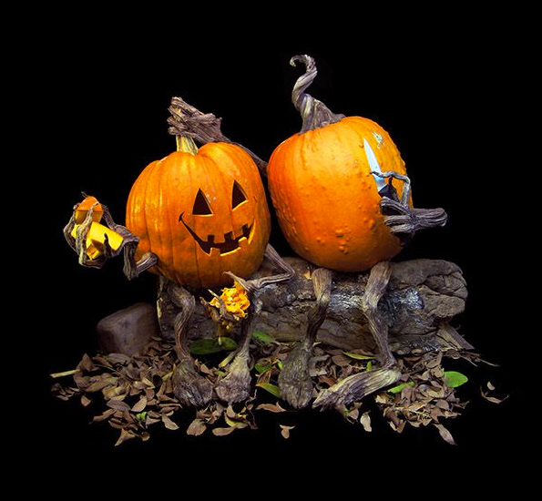 Poseable Vine Arms & Legs to Decorate Pumpkins by Villafane Studios