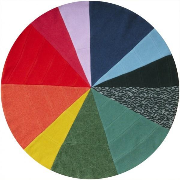 Pie Chart Patchwork Rug