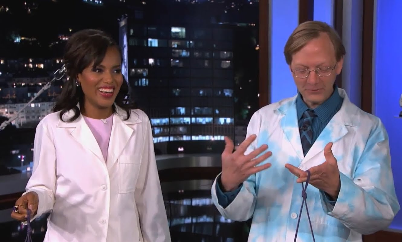 Science Bob Pflugfelder & Jimmy Kimmel Do Crazy Science Experiments
