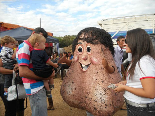 Brazilian Testicle Mascot 'Mr. Balls' aka 'Senhor Testiculo' Raises Awareness of Testicular Cancer