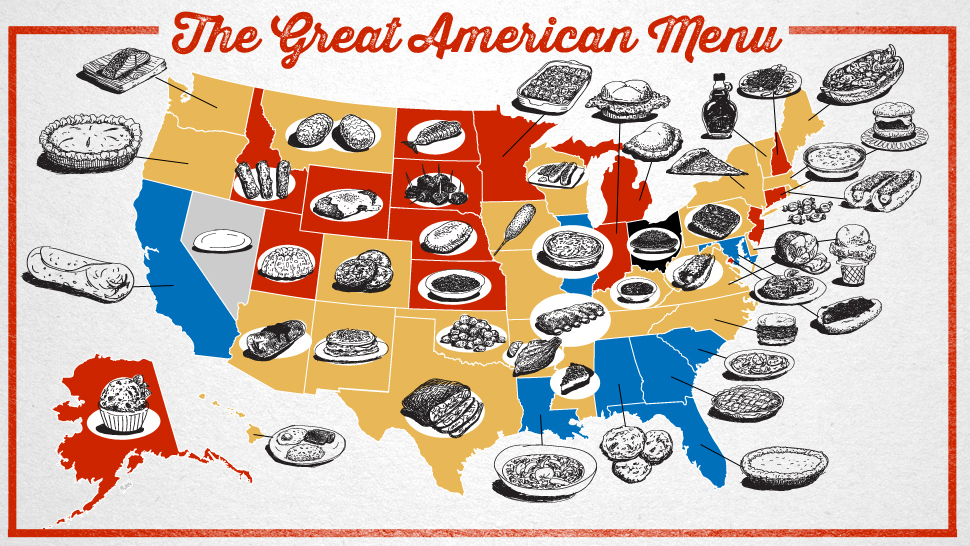 The great american menu ranking regional foods across the - Authentic american cuisine ...