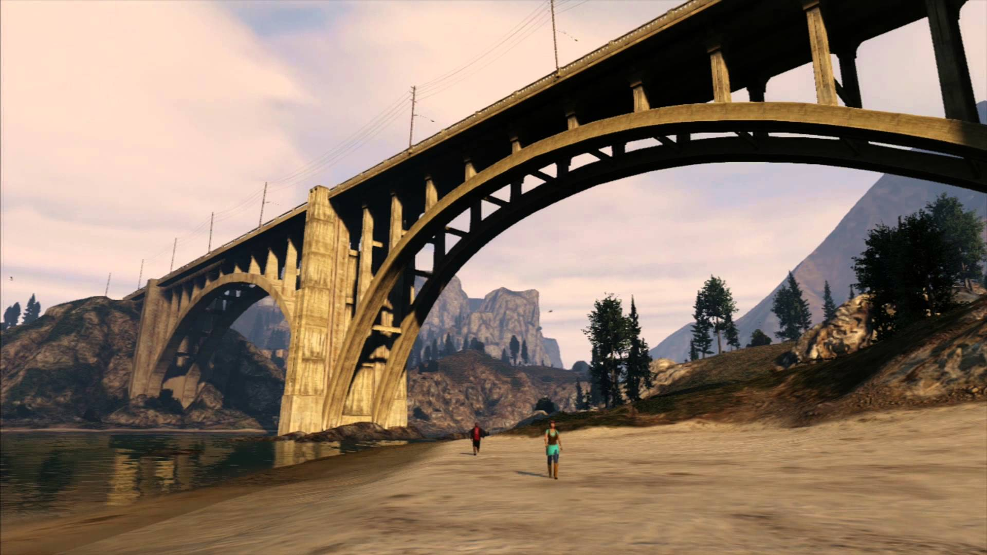 Time-Lapse Filmed Entirely in the Video Game 'Grand Theft Auto V'