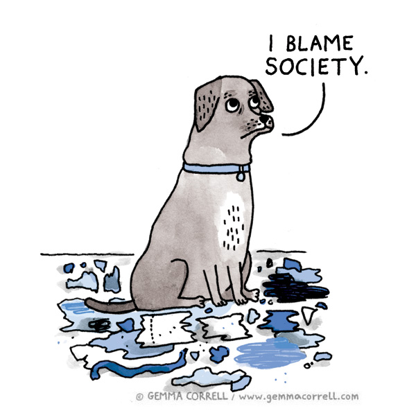 A Dog's Life by Gemma Correll