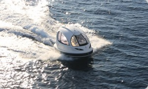 Jet Capsule luxury mini yacht