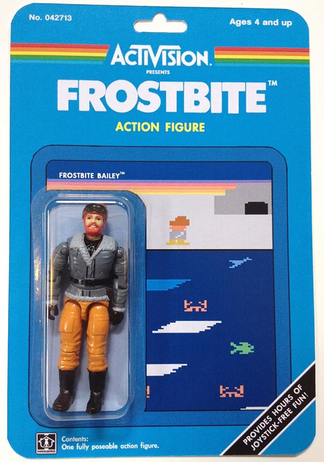 Custom Atari-Era Activision Figures - Frostbite