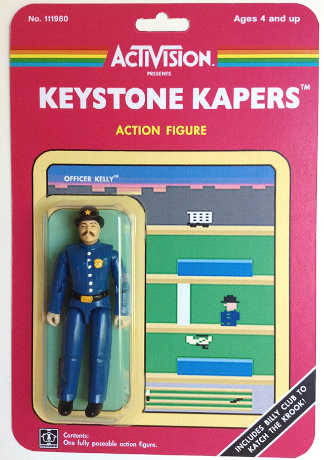 Custom Atari-Era Activision Figures - Keystone Kapers