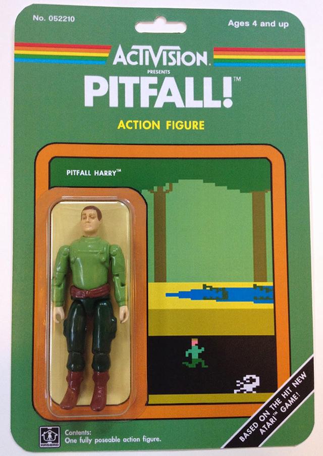 Custom Atari-Era Activision Figures - Pitfall!
