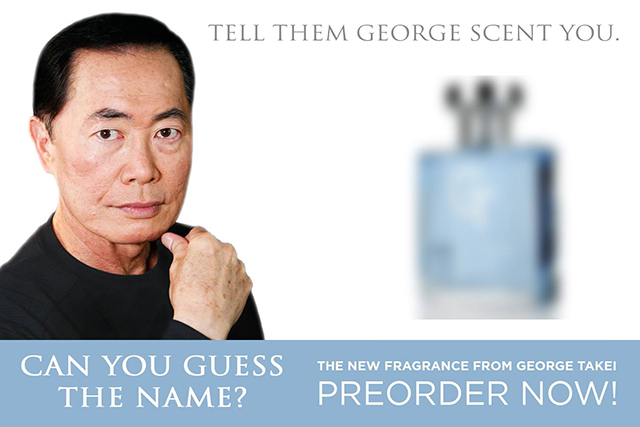 Eau My Cologne Spray by George Takei