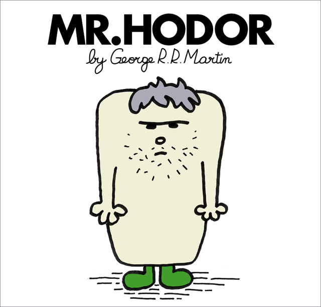 Mr. Men and Little Miss Game of Thrones