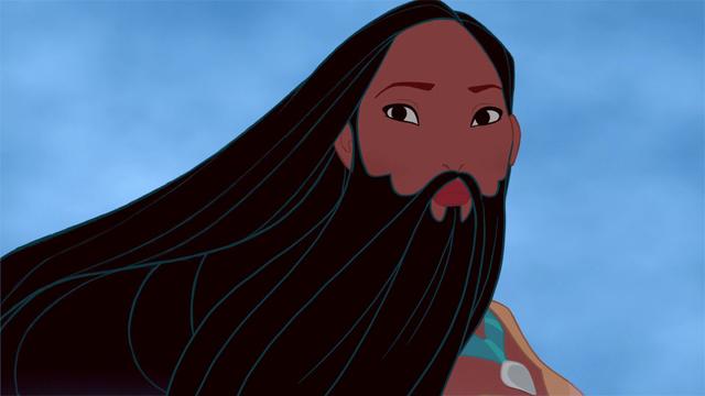 Disney Princess Beards