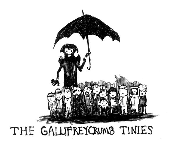 The Gallifreycrumb Tinies, A 'Doctor Who' Parody of Edward Gorey's 'The Gashleycrumb Tinies'