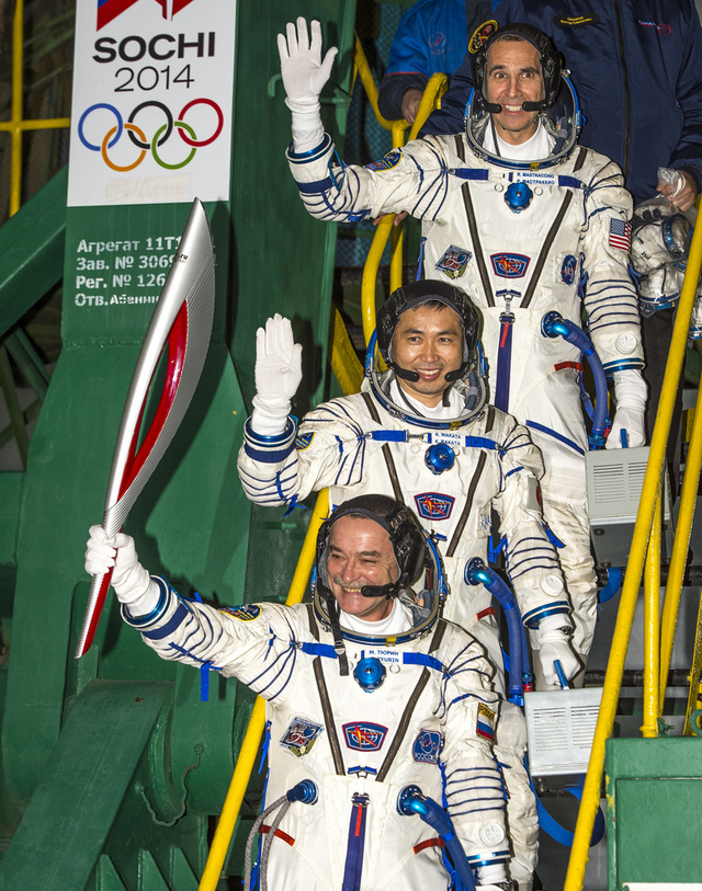Olympic Spacewalk