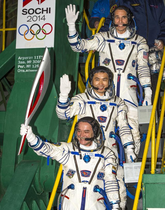 Olympic Spacewalk