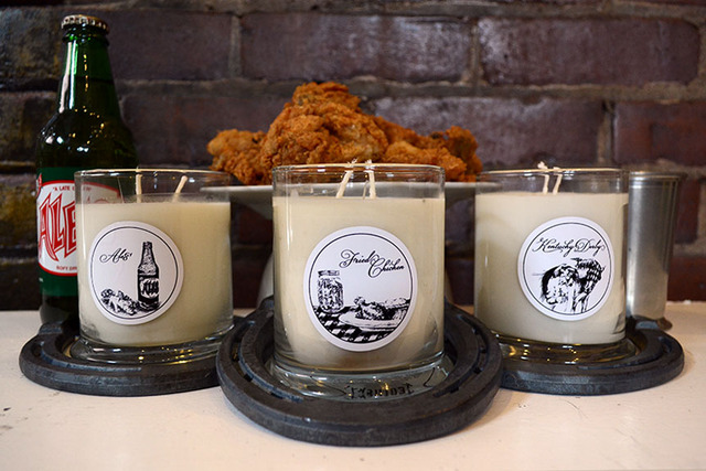 Kentucky Fried Chicken Candle Made With Actual Chicken