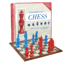 Team Fortress 2 Chess Set