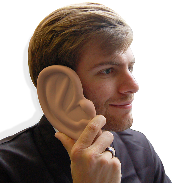 iPhone 4 Case Shaped Like a Massive Ear