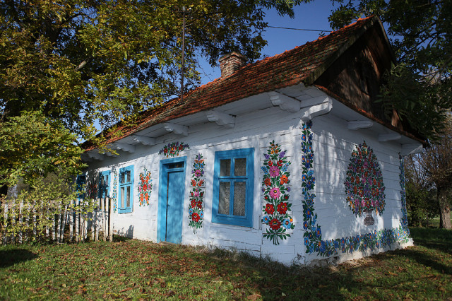 Zalipie painted village