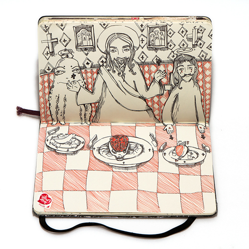 The Last Supper by Nataliya Platonova