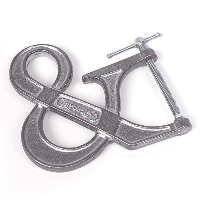 The Adjustable Clampersand