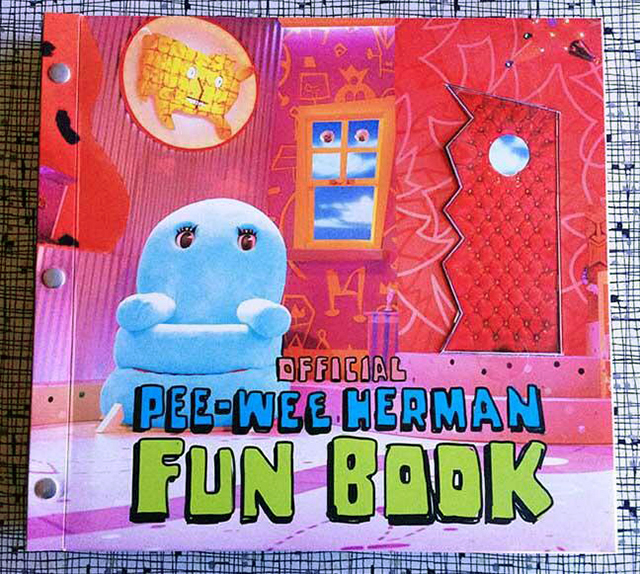 Pee-wee Herman Funbook