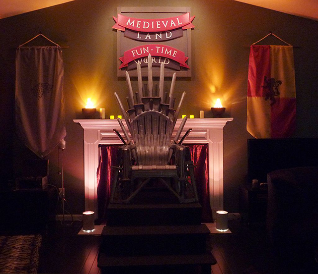 How To Build A Replica Of The Iron Throne From Game Of