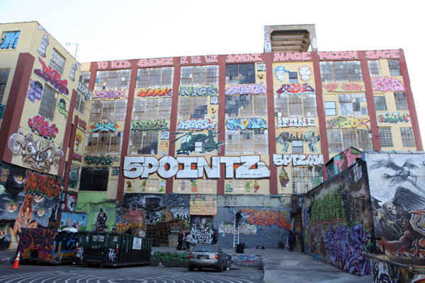 5 Pointz painted over