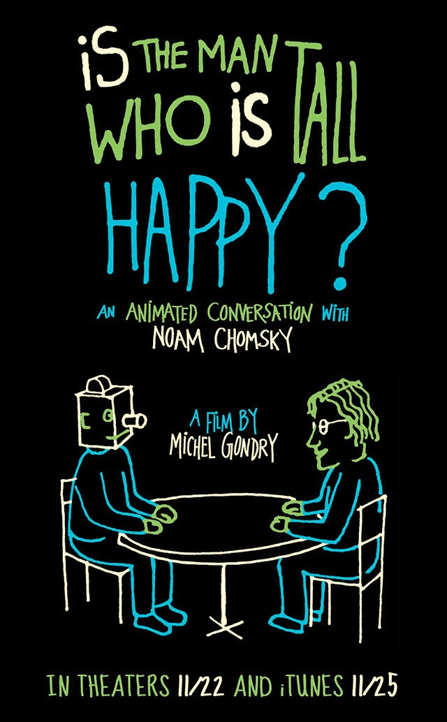 Michel Gondry Narrates Scene From 'Is The Man Who Is Tall Happy?, His Animated Conversation with Noam Chomsky'
