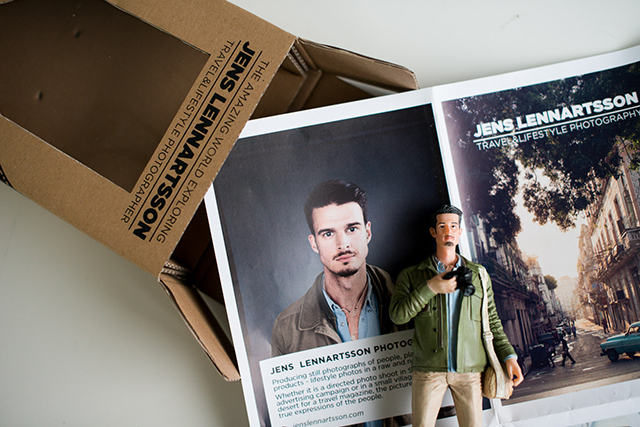 Photographer Makes 400 Action Figures of Himself For Clever Self-Promotion Idea