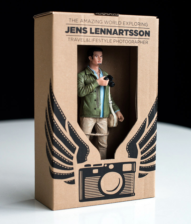 Photographer Makes 400 Action Figures Of Himself For A