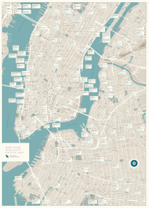 New York Specialty Coffee Map