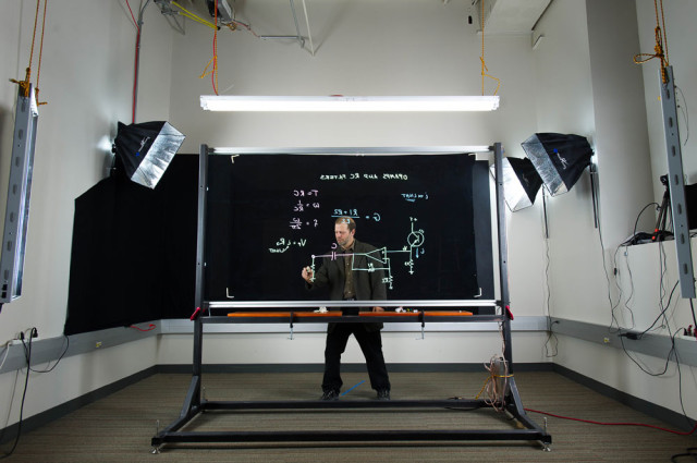 Lightboard by Michael Peshkin