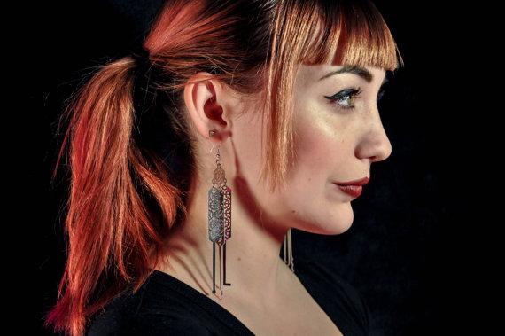 Lock Pick Earrings 2