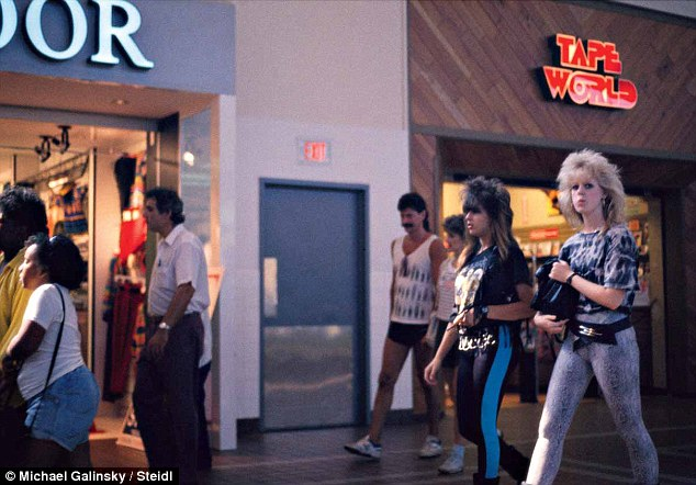 Malls Across America, A Photographic Flashback to the 1980s