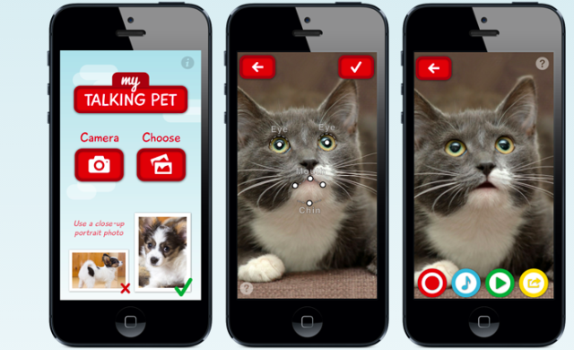 My Talking Pet, A Photo App That Lets Your Pets Do The Talking