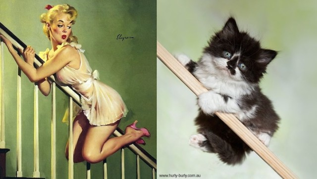 Stairway Pinup