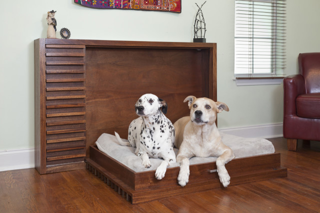 A modern fold out murphy bed for pets by murphy 39 s paw design for Creative murphy bed ideas