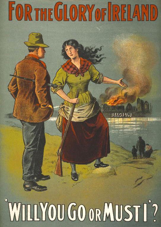 Women and Children in WWI Propaganda Posters