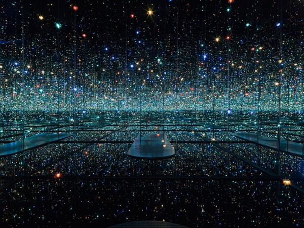 Two Mirrored Infinity Rooms by Yayoi Kusama Are On Display in New York City