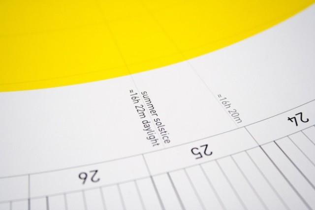 Circular Calendar by Soren Lachnit