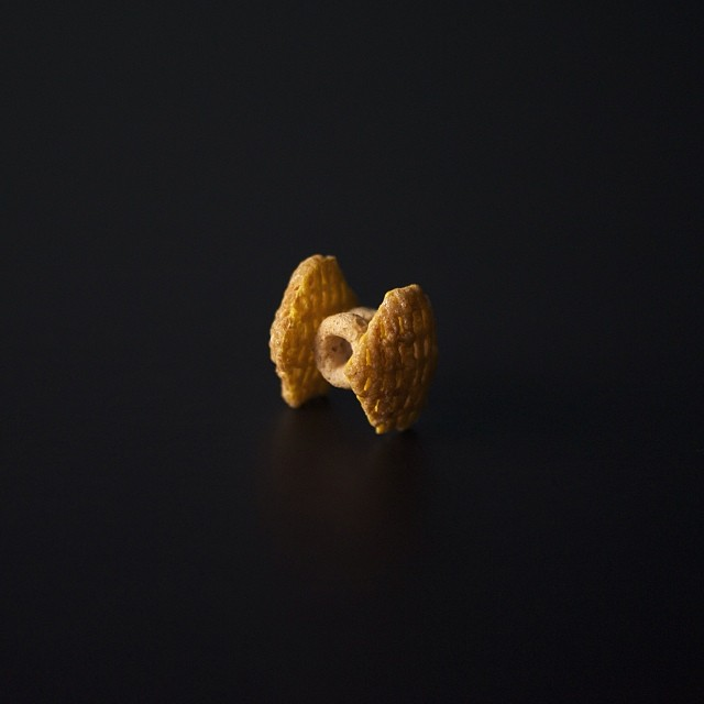 Cereal TIE Fighter by Brock Davis