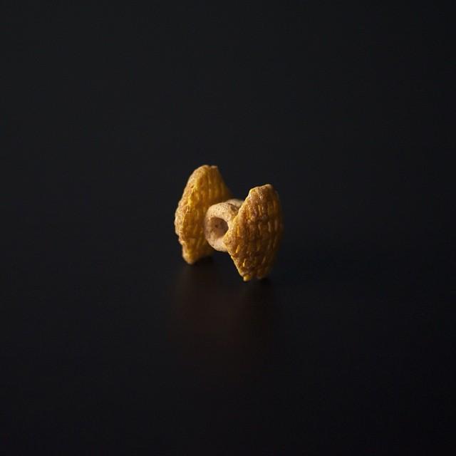 Cereal TIE Fighter by Brock Davis