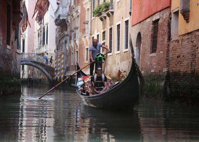 Google Street View in Venice