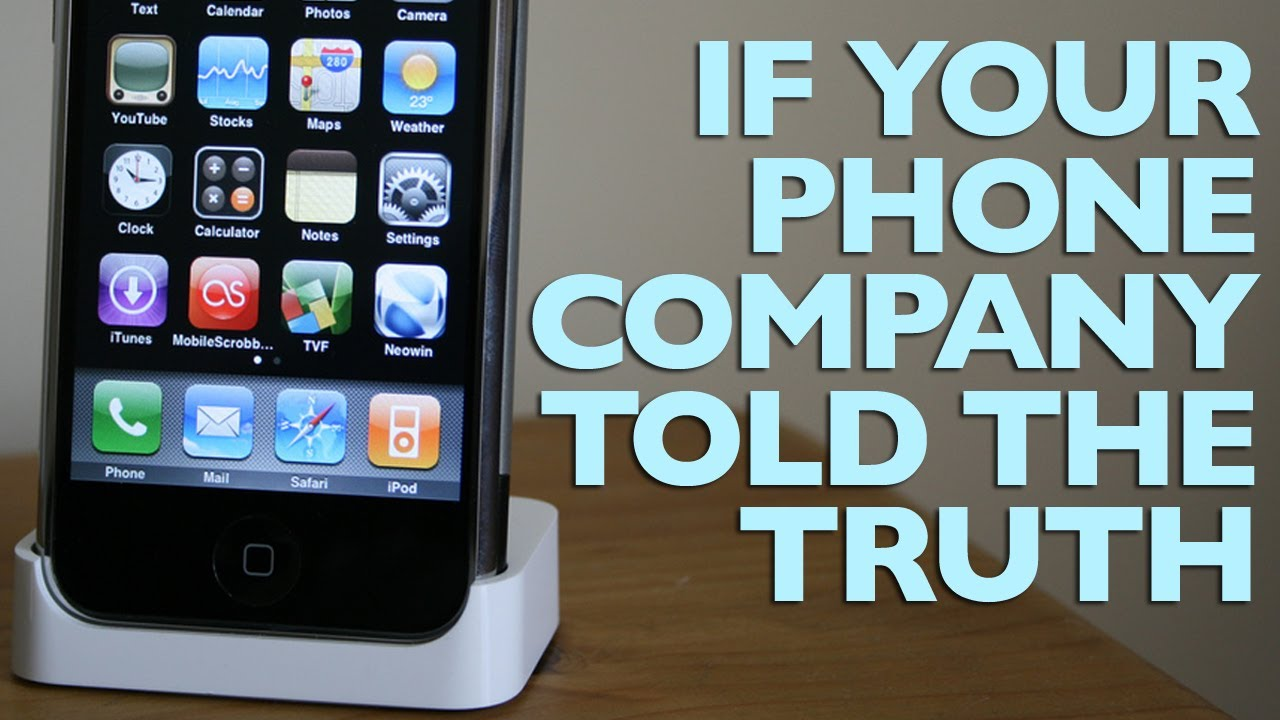 If Your Phone Company Told The Truth by Pleated-Jeans